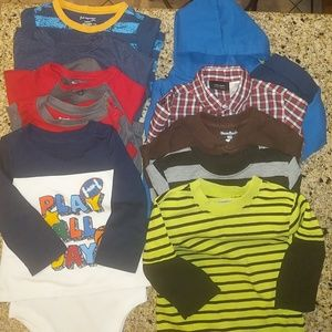 Other - BUNDLED baby boy long sleeves & outfit. 18 mo